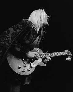 Johnny Winter performing at Madison Square Garden in New York City 1969© 1978 Steve Banks - Image 24377_0130