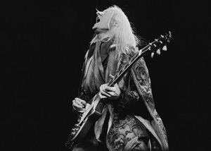 Johnny Winter performing at Madison Square Garden in New York City 1969© 1978 Steve Banks - Image 24377_0131