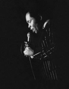 Lou Rawls in Atlanta 1975© 1978 Steve Banks - Image 24377_0140