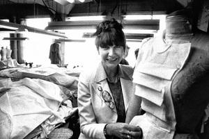 Theadora Van Runkle at Western Costume1978© 1978 Steve Banks - Image 24377_0209