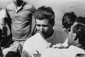 Jim Hall at Riverside International Raceway in Riverside, California1965© 1978 Steve Banks - Image 24377_0227