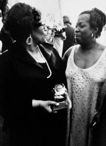 Ella Fitzgerald and Sarah Vaughancirca 1980s© 1980 Steve Banks - Image 24377_0258