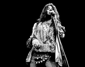 Janis Joplin performing at Madison Square Garden in New York City 1969 © 1978 Steve Banks - Image 24377_0287