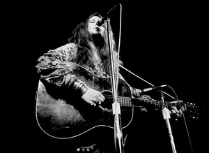 Janis Joplin performing at Madison Square Garden in New York City 1969 © 1978 Steve Banks - Image 24377_0288
