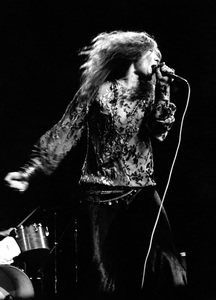 Janis Joplin performing at Madison Square Garden in New York City 1969 © 1978 Steve Banks - Image 24377_0289