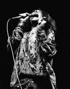 Janis Joplin performing at Madison Square Garden in New York City 1969 © 1978 Steve Banks - Image 24377_0290