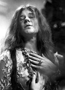Janis Joplin performing at Madison Square Garden in New York City 1969 © 1978 Steve Banks - Image 24377_0291