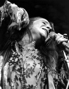Janis Joplin performing at Madison Square Garden in New York City 1969 © 1978 Steve Banks - Image 24377_0292