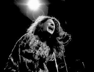 Janis Joplin performing at Madison Square Garden in New York City 1969 © 1978 Steve Banks - Image 24377_0293