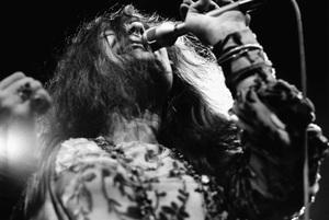 Janis Joplin performing at Madison Square Garden in New York City 1969 © 1978 Steve Banks - Image 24377_0294