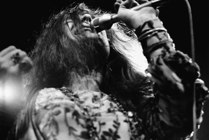 Janis Joplin performing at Madison Square Garden in New York City 1969 © 1978 Steve Banks - Image 24377_0295