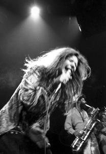 Janis Joplin performing at Madison Square Garden in New York City 1969 © 1978 Steve Banks - Image 24377_0296