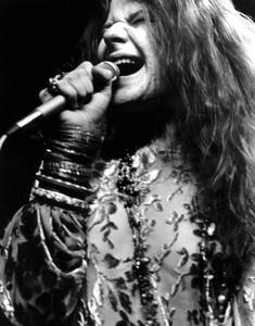 Janis Joplin performing at Madison Square Garden in New York City 1969 © 1978 Steve Banks - Image 24377_0297