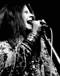 Janis Joplin performing at Madison Square Garden in New York City 1969 © 1978 Steve Banks - Image 24377_0298