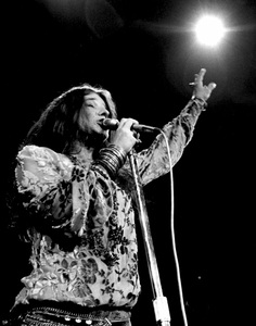 Janis Joplin performing at Madison Square Garden in New York City 1969 © 1978 Steve Banks - Image 24377_0299