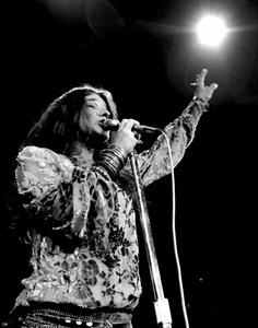 Janis Joplin performing at Madison Square Garden in New York City 1969 © 1978 Steve Banks - Image 24377_0299