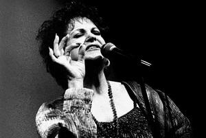 """Annie Ross of """"Lambert, Hendricks & Ross""""circa 1980s© 1980 Steve Banks - Image 24377_0433"""