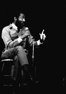 Dick Gregory at The Village Gate in New York Citycirca 1960s© 1978 Steve Banks - Image 24377_0481