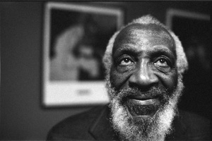 Dick Gregory in Hollywood 2005 © 2005 Steve Banks - Image 24377_0488