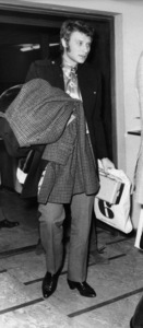 Johnny Hallyday at London Airport before leaving for Paris1966** J.C.C. - Image 24380_0001