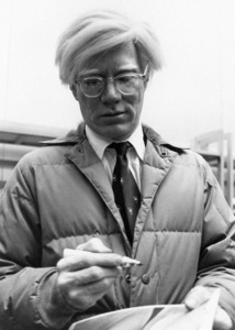 Andy Warhol at a press event at the Citicorp Center1978© 1978 Michael Mella - Image 24382_0003