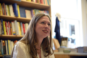 """Chelsea Clinton at Book Hampton, in East Hampton, NY for the launch of her book """"She Persisted: 13 American Women Who Changed The World""""2017 © 2017 Michael Mella - Image 24382_0027"""