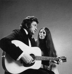 Johnny Cash and June Carter Cashcirca 1969** I.V.M. - Image 24383_0022