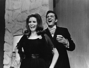 """The Johnny Cash Show""June Carter Cash, Johnny Cash1969** I.V.M. - Image 24383_0024"