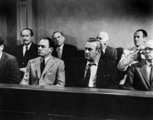 """""""12 Angry Men""""George Voskovec, Ed Begley, Joseph Sweeney, Henry Fonda, E.G. Marshall, Lee J. Cobb, John Fiedler1957** I.V. - Image 24383_0026"""