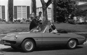 """The Graduate""Director Mike Nichols, Anne Bancroft, Dustin Hoffman1967** I.V.C. - Image 24383_0033"
