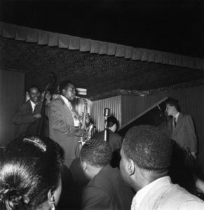 Charlie Parker with Tommy Potter, Al Haig and Red Rodneycirca 1949** I.V.M. - Image 24383_0097