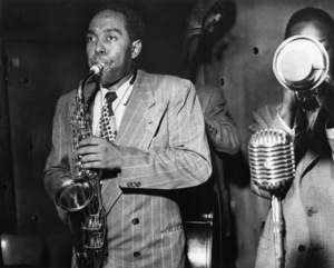 Charlie Parker at the Three Deuces in New York Citycirca 1948Photo by William P. Gottlieb** I.V.M. - Image 24383_0098