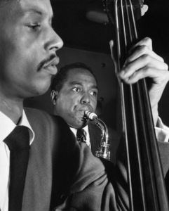 Charlie Parker and Tommy Pottercirca 1948Photo by William P. Gottlieb** I.V.M. - Image 24383_0105