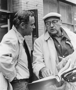 """""""The Prisoner of Second Avenue""""Jack Lemmon, director Melvin Frank1975** I.V. - Image 24383_0137"""