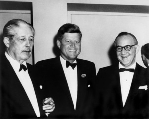 Benny Goodman with Harold Macmillian and John F. Kennedy in Washington, DC1962** I.V.M. - Image 24383_0159