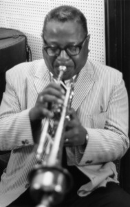 Roy Eldridge at Village Gate1962Photo by Jack Bradley** I.V.M. - Image 24383_0214