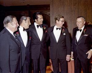 Danny Thomas, Wayne Newton and Frank Sinatracirca 1970s** I.V. - Image 24383_0241