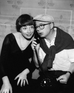 """The Apartment""Shirley MacLaine, director Billy Wilder1960** I.V. - Image 24383_0253"