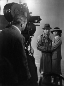 """Casablanca""Director Michael Curtiz, Humphrey Bogart, Ingrid Bergman1942** I.V. - Image 24383_0264"