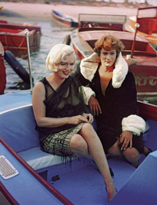 """Some Like It Hot""Marilyn Monroe, Tony Curtis1959** I.V. - Image 24383_0290"
