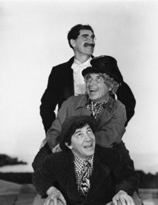 """""""A Night at the Opera""""Groucho Marx, Harpo Marx, Chico Marx1935** I.V. - Image 24383_0297"""