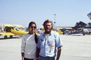 Steve McQueen and Barbara Mintycirca 1970s** I.V. - Image 24383_0310