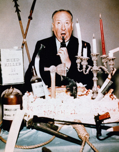 """Alfred Hitchcock in """"Alfred Hitchcock Presents""""circa 1960** I.V. - Image 24383_0334"""