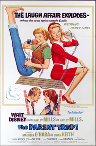 """The Parent Trap"" (poster)1961** I.V. - Image 24383_0356"