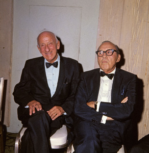 Jimmy Durante and Jack Bennycirca 1960s** I.V. - Image 24383_0372