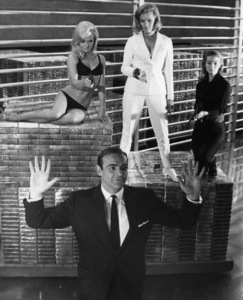 """Goldfinger""Sean Connery, Honor Blackman1964** I.V. - Image 24383_0394"