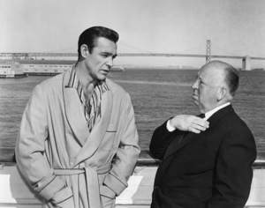 """""""Marnie""""Sean Connery, director Alfred Hitchcock1964** I.V. - Image 24383_0401"""