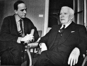 Director Ingmar Bergman and Charles Chaplincirca 1960** I.V. - Image 24383_0494