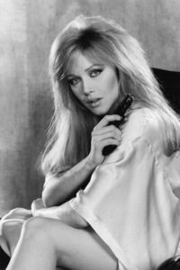 """Tanya Roberts during the making of """"A View to a Kill""""1985** I.V. - Image 24383_0520"""
