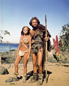"""One Million Years B.C.""Raquel Welch, John Richardson1966** I.V. - Image 24383_0536"